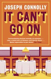 Joseph Connolly: It can't go on